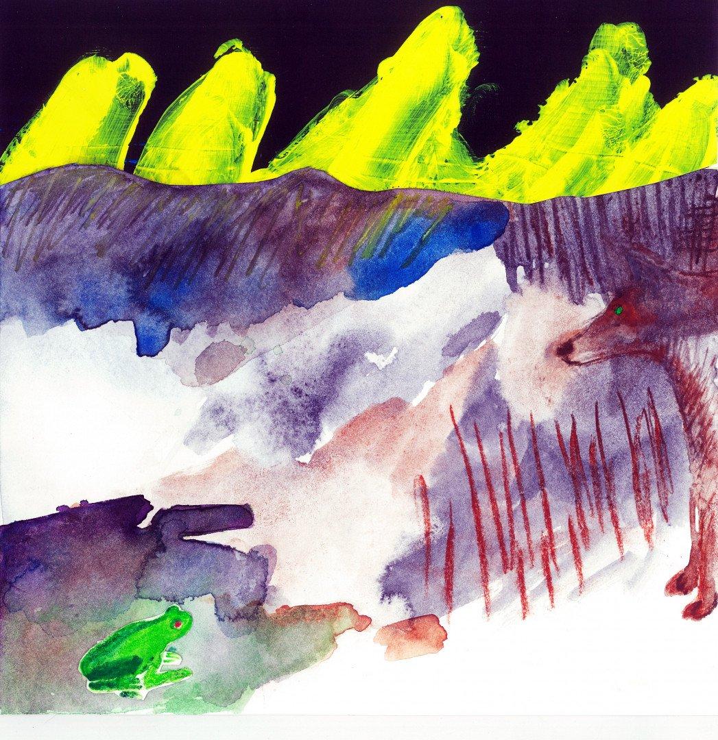 Ranocchio e il lupo